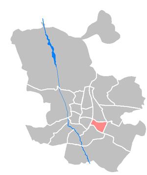 Moratalaz - Image: Maps ES Madrid Moratalaz