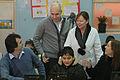 María Eugenia Vidal con alumnos beneficiados por el Plan Sarmiento (7489592976).jpg
