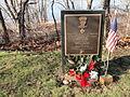 Marc J. Kuzma Navy Cross memorial - Hadley Falls Canal Park - DSC04444.JPG