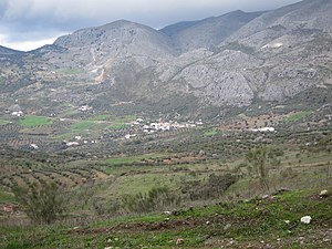 Sierra de Alhama - View of the Sierra de Alhama