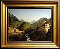 Marco gozzi, paesaggio montano con torrente ogna, palazzo moroni e una fabbrica di ferro, 1833 ca.JPG