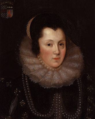 Margaret Clifford, Countess of Cumberland - Portrait of Margaret Clifford, 1585