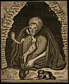 Margaret Finch, aged 108. Engraving by J. Sharp. Wellcome V0007089.jpg