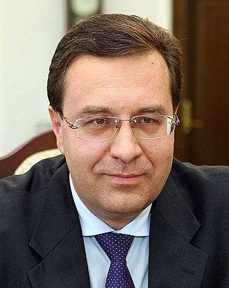 July 2009 Moldovan parliamentary election - Image: Marian Lupu 2011 05 28