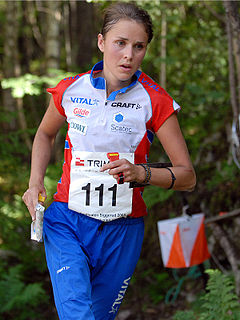 Marianne Riddervold Norwegian orienteer