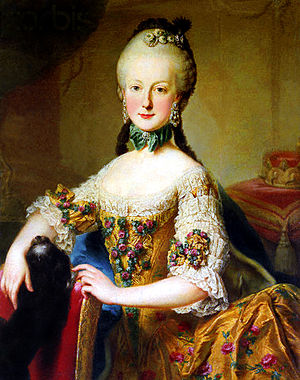 Archduchess Maria Elisabeth of Austria (1743–1808) -  Maria Elisabeth in her youth