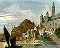 Marienburg Ostpreußen, Stahlstich nach Domenico Quaglio, 1834.jpg