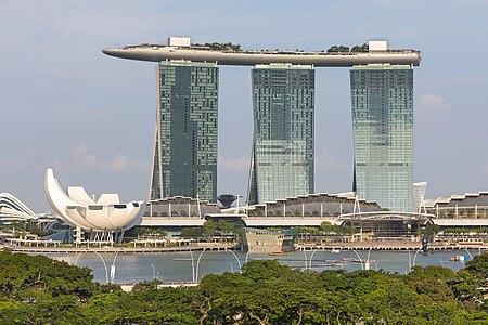 Marina Bays Sands Hotel and ArtScience Museum Singapore