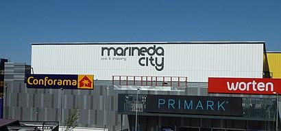 Incompetencia Auroch electrodo  Cómo llegar a Marineda City en A Coruña en Autobús | Moovit
