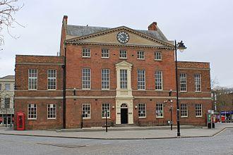 Coplestone Warre Bampfylde - Market House, Taunton, built to Bampfylde's designs in 1772