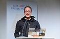 Markus Beckedahl 5. Wikimedia-Salon ABC des Freien Wissens 27. November 2014.jpg