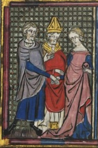 Constance of France, Princess of Antioch - Nuptial of Bohemond and Constance