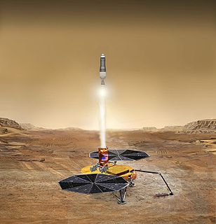 Mars sample-return mission Mars mission to collect rock and dust samples