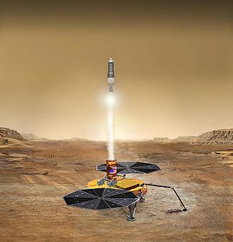 Mars sample return mission - Sample return concept
