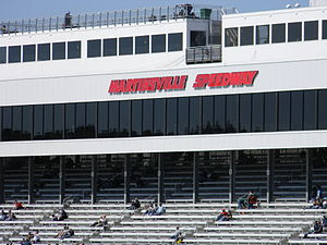 Martinsville Speedway - The tower above the finish line at the speedway.