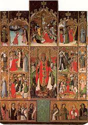 Bernat Martorell: Retaule de Sant Pere de Púbol
