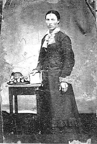 Beothuk - Mary Pond (née Anstey) 1858–1895. Granddaughter of Beothuk woman known as 'Elizabeth'. Twillingate