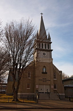 Mary Queen of Martyrs Church Edmonton