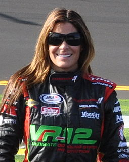 Maryeve Dufault French-Canadian racing driver