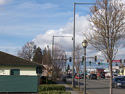 State Avenue in Downtown Marysville