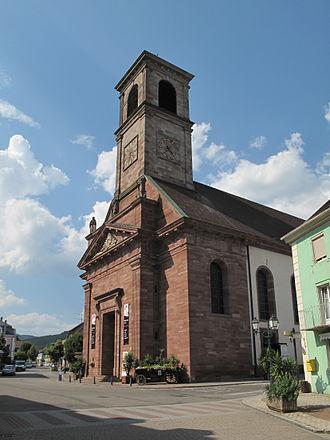 Masevaux - Church: église Saint-Martin