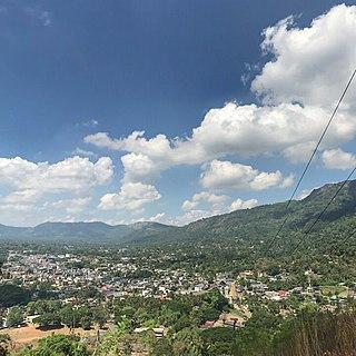 Matale City in Central Province, Sri Lanka