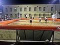 Match de beach-volley en soirée à Tortolì (Sardaigne) en 2015.jpg