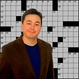 Matt Gaffney American crossword constructor and author