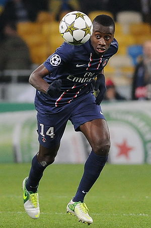 Blaise Matuidi - Matuidi with Paris Saint-Germain in 2012
