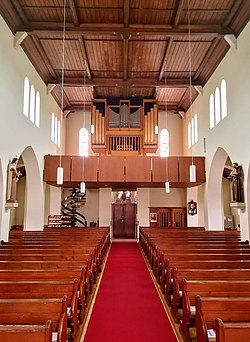 Matzenbach, Kath. Kirche Zur Schmerzhaften Mutter, Orgel (1).jpg