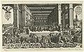 Maurits ontvangt kousenband 1613.jpg