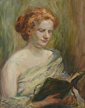 Max Fleischer (painter) - Image: Max Fleischer Weiblicher Studienkopf