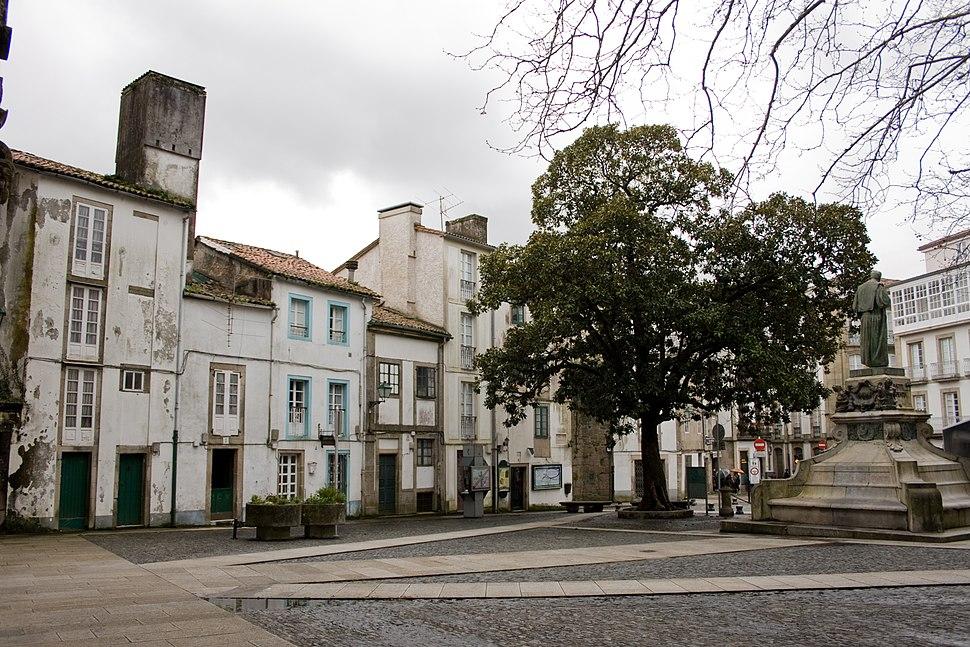 Mazarelos square, Santiago de Compostela, Galicia-1