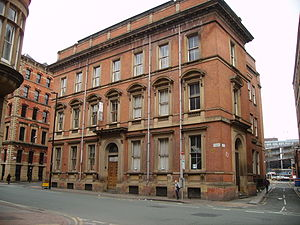 Mechanics' Institute, Manchester - Mechanics' Institute, Princess Street, Manchester