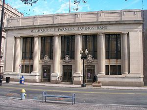 Ernest G. Southey - Mechanics and Farmers Savings Bank Building, Bridgeport, 1930.
