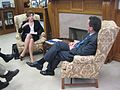Meeting with incoming UConn President Susan Herbst. (5411226777).jpg