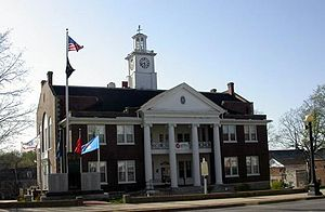 Harrodsburg, Kentucky - Mercer County Courthouse, 2006