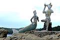 Mermaid and Apaimanee statue (Front).jpg