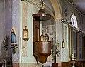 Merville église Saint-Saturnin La chaire.jpg