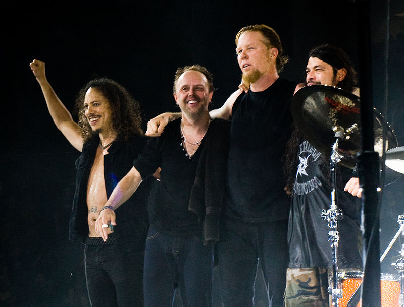 Metallica at The O2 Arena London 2008.jpg