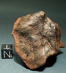 1960 Australia fall Extra thin 1.22 gram MILLBILLILLIE Meteorite