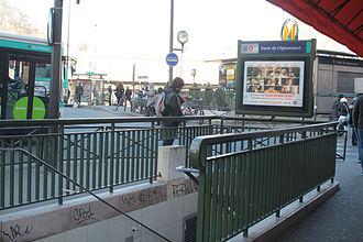 Porte de Clignancourt (Paris Métro) - MetrodeParisPorteDeClignancourt (2)