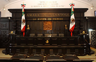 Senate of the Republic (Mexico) - Image: Mexican Senate