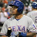 Michael Choice at Minute Maid on August 30 2014.jpg