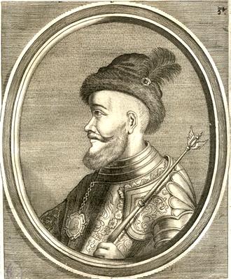 Michael I Apafi - Portrait of Michael Apafi by Cornelis Meyssens