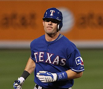 Michael Young (baseball) - Young with the Texas Rangers on April 27, 2009