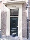 middelweg 2 leiden - kosterswoning deur