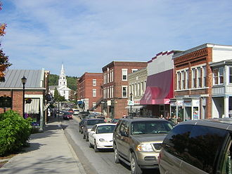 Middlebury, Vermont - Main Street