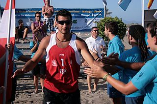 Miguel Ángel De Amo Spanish volleyball and beach volleyball player