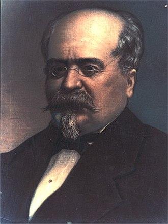 Mihail Kogălniceanu - Portrait of an aging Kogălniceanu